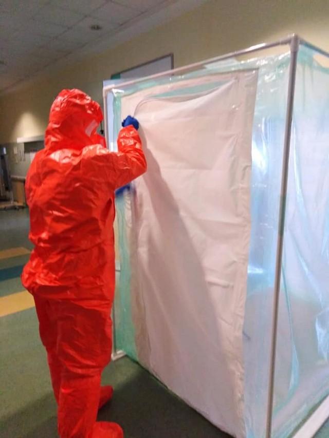 Epidemia koronawirusa:Grupa Poszukiwawczo Ratownicza OSP
