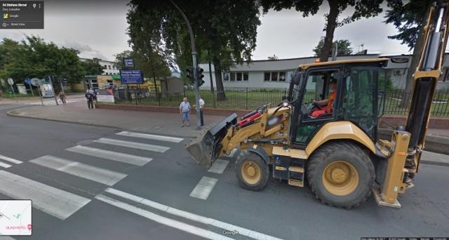 Zatorze w kamerach Google Street View.