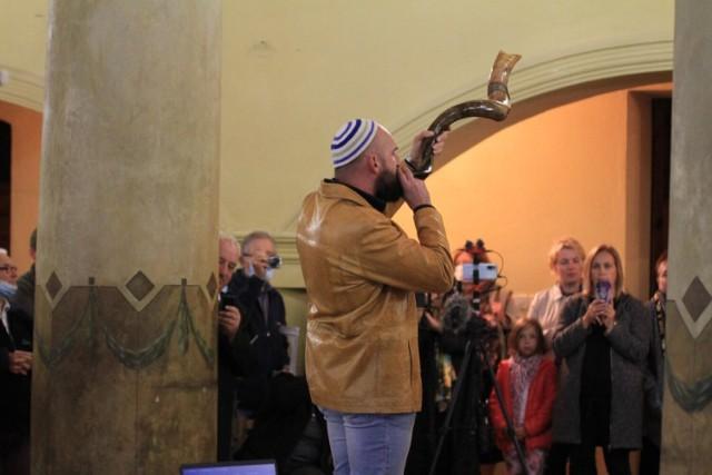 Święto Sukkot w konińskiej synagodze