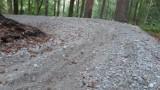 Trasa rowerowa single track na Górze Chełmskiej do poprawki [ZDJĘCIA]