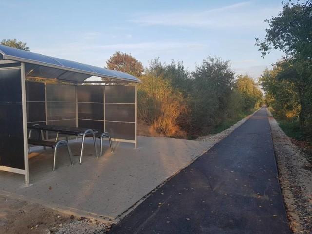 Na początku października otwarto 2,5 km fragment ścieżki biegnącej z Gołańczy w stronę Margonina, wzdłuż dawnej  linii kolejowej