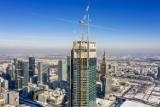 Varso najwyższym wieżowcem w Unii Europejskiej. Wieża prześcignęła nie tylko Pałac Kultury
