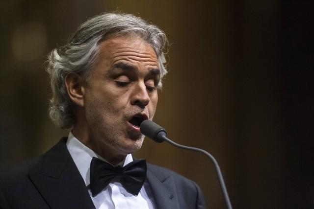 Andrea Bocelli w Krakowie [CENY BILETÓW]