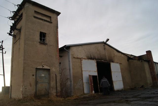 Pożar hali w Krzanowicach