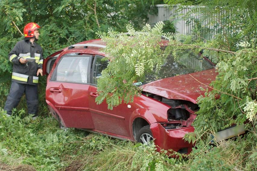 Wypadek w Piotrowie pod Kaliszem