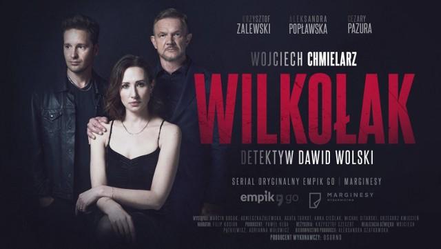 """Premiera książki """"Wilkołak"""" Wojciecha Chmielarza 19 maja - ale już teraz można posłuchać powstałego na jej podstawie serialu audio w gwiazdorskiej obsadzie"""