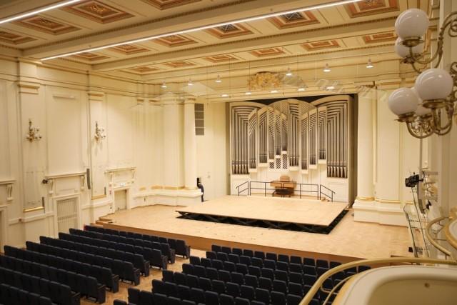 Filharmonia Krakowska nowy sezon rozpoczęła w odnowionej sali koncertowej