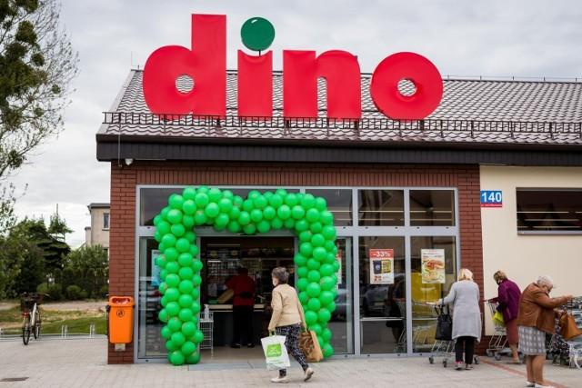 Sklepy Dino cieszą się popularnością szczególnie w małych miastach i terenach wiejskich, ale nie tylko