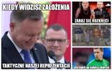 Memy po meczu Słowenia - Polska. Słaba gra naszych piłkarzy, czy z Austrią będzie lepiej?