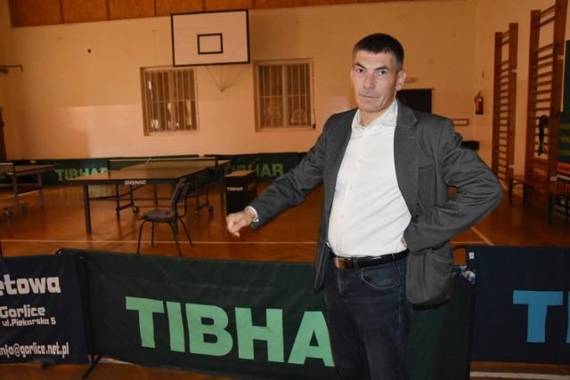 Janusz Zięba, dyrektor GCK nie mówi o ograniczeniu projektu. Czeka na kolejny przetarg