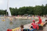 Kąpielisko nad zalewem Żółtańce było oblegane przez  mieszkańców  i turystów– zobacz zdjęcia