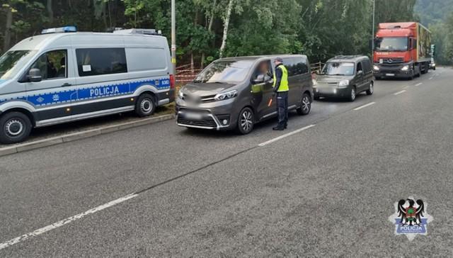 Pijani kierowcy wpadli podczas akcji Trzeźwy poranek w Wałbrzychu