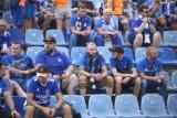 Kibice Ruchu Chorzów na ostatnim meczu ligowym przy Cichej - zobacz ZDJĘCIA. Niebiescy przegrali z LKS Goczałkowice-Zdrój