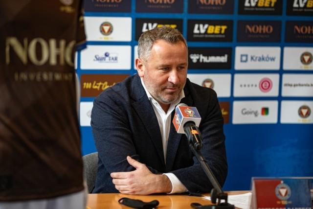 Prezes Garbarni Kraków Grzegorz Bartosz