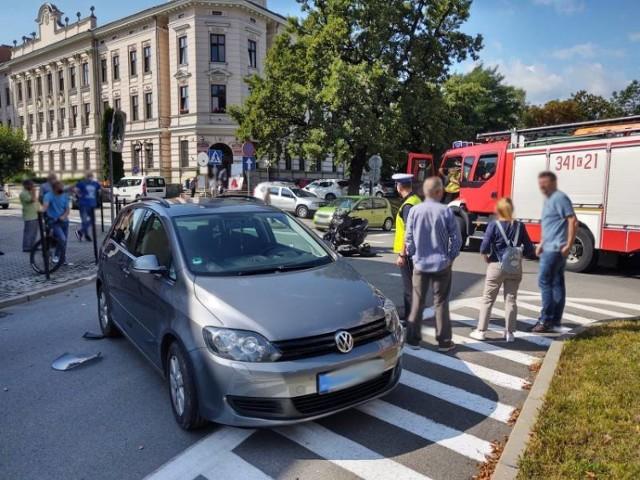 24 sierpnia 2020 r. na skrzyżowaniu ulic Jagiellońska - Mickiewicza doszło do zderzenia volkswagena golfa ze skuterem yamaha. Jedna osoba z obrażeniami trafiła do szpitala