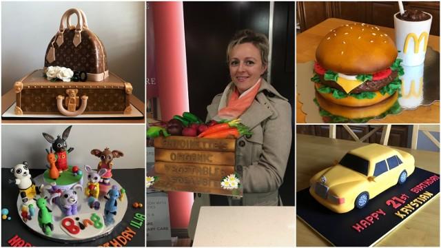 Teresa Sarat w wykonanie każdego torta wkłada dużo serca. - Zawsze przygotowuję taki jaki sama chciałabym dostać - podkreśla.