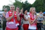 Polska - Czechy: Tak przeżywali mecz kibice w Będzinie [ZDJĘCIA]