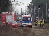 Pociąg potrącił kobietę na trasie Gdynia - Frankfurt, koło Opalenicy. Obok znaleziono noworodka, dziecko jest pod opieką lekarzy [ZDJĘCIA]