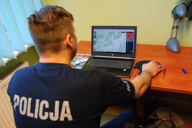 Policjanci z Człuchowa podsumowali zgłoszenia mieszkańców z tegorocznych wakacji