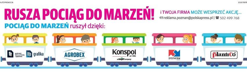"""Akcja """"Głosu Wielkopolskiego"""": Pociąg marzeń zawiezie dzieci na niezapomniane wakacje. Wspólnie spełniamy marzenia - dołącz do nas!"""