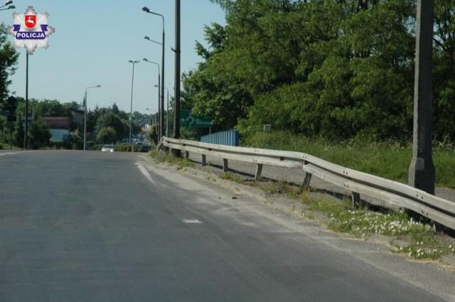 Lubartów. Wypad na miasto skończył się utratą prawa jazdy, pijany kierowca rozbijał się na ul. Słowackiego