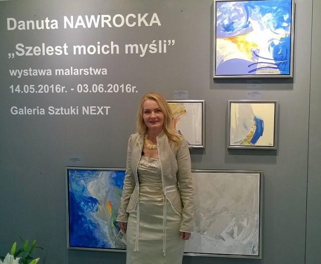 Wystawa obrazów Danuty Nawrockiej w Bydgoszczy.