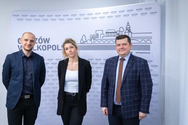 Kornelia Lesiewicz u prezydenta Gorzowa Jacka Wójcickiego