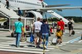 Pierwszy czarter odleciał lotniska w Bydgoszczy. Turyści zadowoleni z wakacji i z wygody [zdjęcia]