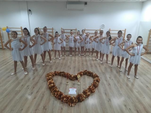 Grupa Simare z Piotrkowa zdobyła srebrny medal w Mistrzostwach Polski Cheerleaders