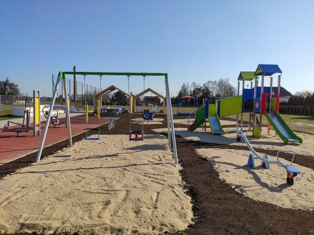W kaliskim sołectwie Sulisławice powstał nowy plac zabaw