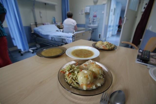 Poniedziałkowy obiad w szpitalu przy Borowskiej we Wrocławiu