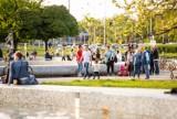 Multimedialny Park Fontann zamienił się w Dzielnicę Poetów