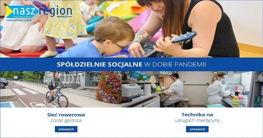"""Zmieniamy Wielkopolskę: Nowy e-magazyn """"Nasz Region"""" nr 6 (11)/2020"""