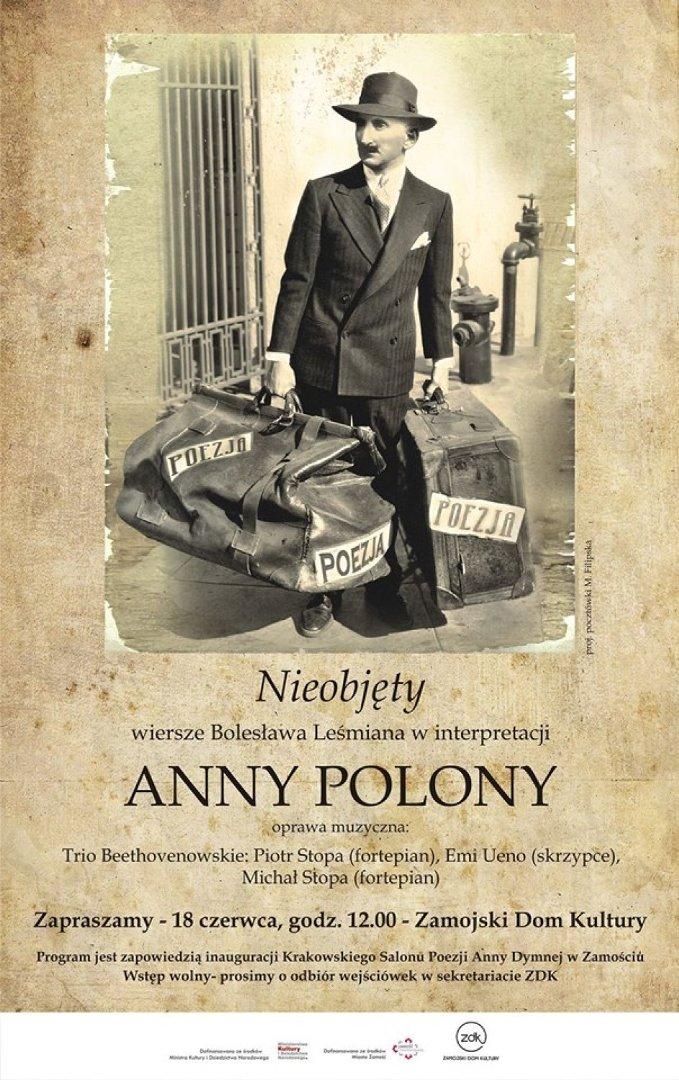 Leśmian W Interpretacji Anny Polony Spotkanie W Zamojskim