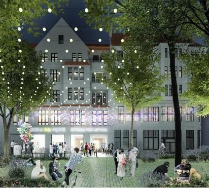 Poznań: Sala widowiskowa i kino na dachu. Zobacz wizualizacje nowej siedziby Estrady Poznańskiej