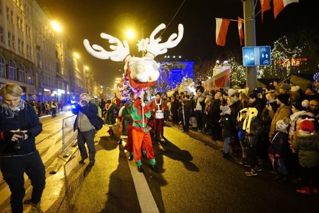 Wielka Świąteczna Parada jest zwieńczeniem tegorocznej działalności Betlejem Poznańskiego.