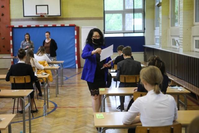 Tak wyglądał tegoroczny egzamin ósmoklasisty w jednej z krakowskich szkół