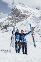 Andrzej Bargiel i Jędrek Baranowski jako pierwsi Polacy w historii zdobyli i zjechali na nartach z Laila Peak