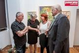 W Galerii pod Atlantami w Wałbrzychu otwarto jubileuszową wystawę prac Takisa Makandasisa