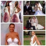 Jaką suknię ślubną wybrać? Te są kiczowate, wulgarne i zdecydowanie bez klasy [ZDJĘCIA]