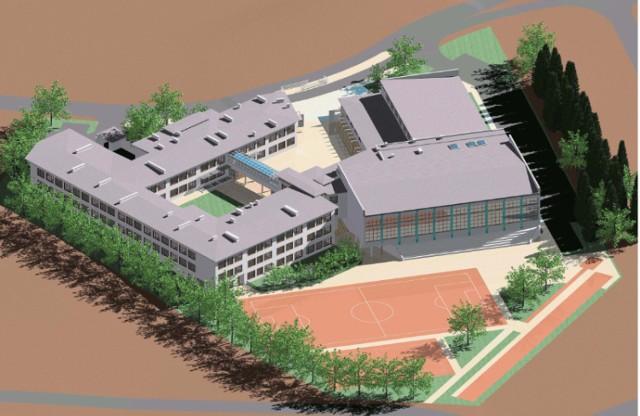 Znamy już projekt szkoły przy ulicy Azaliowej w Gdańsku. Budynek ...