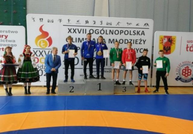 Piotr Ziembicki z Zapaśniczego Klubu Sportowego Miastko osiągnął swój największy w karierze, zdobywając tytuł mistrza Polski kadetów w kategorii wagowej do 55 kg.