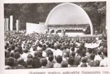 Muszla koncertowa w Tomaszowie na starych zdjęciach. Tak budowano i otwierano muszlę [ZDJĘCIA]