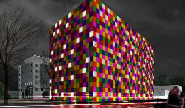 Niezwykły budynek na Mokotowie. Będzie wyglądał jak wielka kostka Rubika [WIZUALIZACJE]