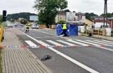Wypadek śmiertelny na przejściu dla pieszych. Kierowca uciekł