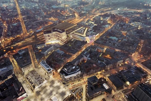 Nowy biurowiec, który stanie na placu Szewczyka, zdaniem architektów zlikwiduje dziurę w zabudowie przy ul. Młyńskiej