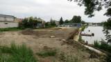 Budowa bulwarów nad Łarpią w Policach ma opóźnienie. Kiedy planowany koniec?