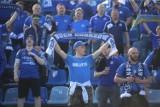 Awans Ruchu Chorzów do II ligi! Święto Niebieskich na stadionie przy Cichej. Zdjęcia kibiców z meczu z Miedź II Legnica