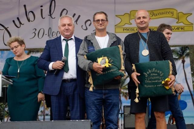 30-lecie firmy A.Z. Iwaniccy Meble Tapicerowane w Gubinie.