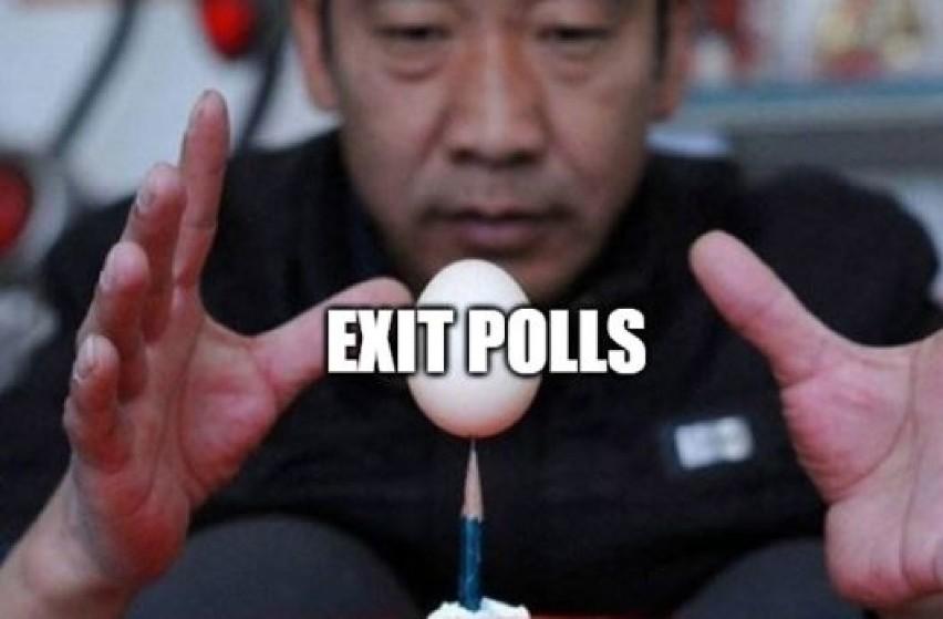 Wyniki wyborów PKW zostaną podane najprędzej w poniedziałek,...